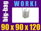 Worek BIG-BAG otwarty 90x90x120 (1tona)